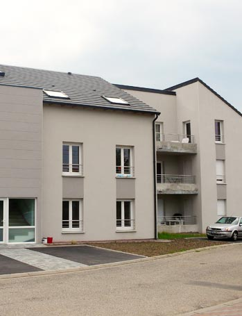 Logements collectifs architecte Moselle